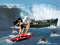 Surfing Omaha Beach
